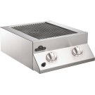 Built-in Flat Top Dual Side Burner Range Burners , Stainless Steel , Natural Gas Product Image