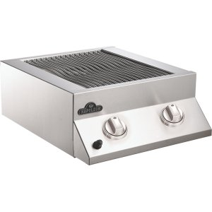 Napoleon GrillsBuilt-in Flat Top Dual Side Burner Range Burners , Stainless Steel , Natural Gas