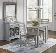 Sarasota Springs Ladder Back Dining Chair With Upholstered Seat