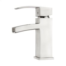 Dario Single Handle Waterfall Faucet - Brushed Nickel
