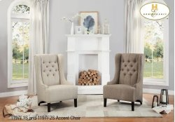 Accent Chair Brown