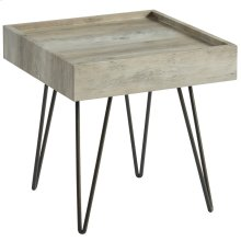 Vista Accent Table in Antique Grey
