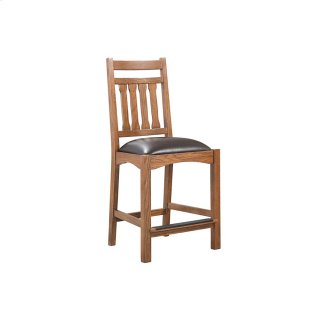 Dining - Oak Park Narrow Slat Counter Stool