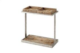 Rawlins Accent Table, Echo Oak