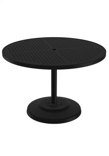 "Boulevard 42"" Round KD Pedestal Dining Umbrella Table"