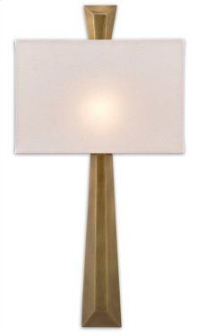 Arno Brass Wall Sconce