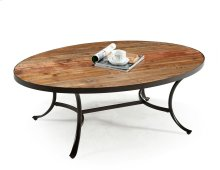 Emerald Home Berkeley Cocktail Table Oval Natural T140-0