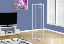 "COAT RACK - 72""H / WHITE METAL"