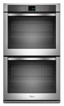 Double Wall Oven with extra-large oven window- Out of Carton