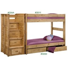 Twin/Twin One-Piece Bunk Bed