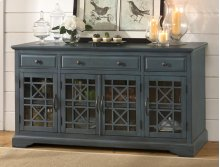 "Craftsman Antique Blue 60"" Media Unit"