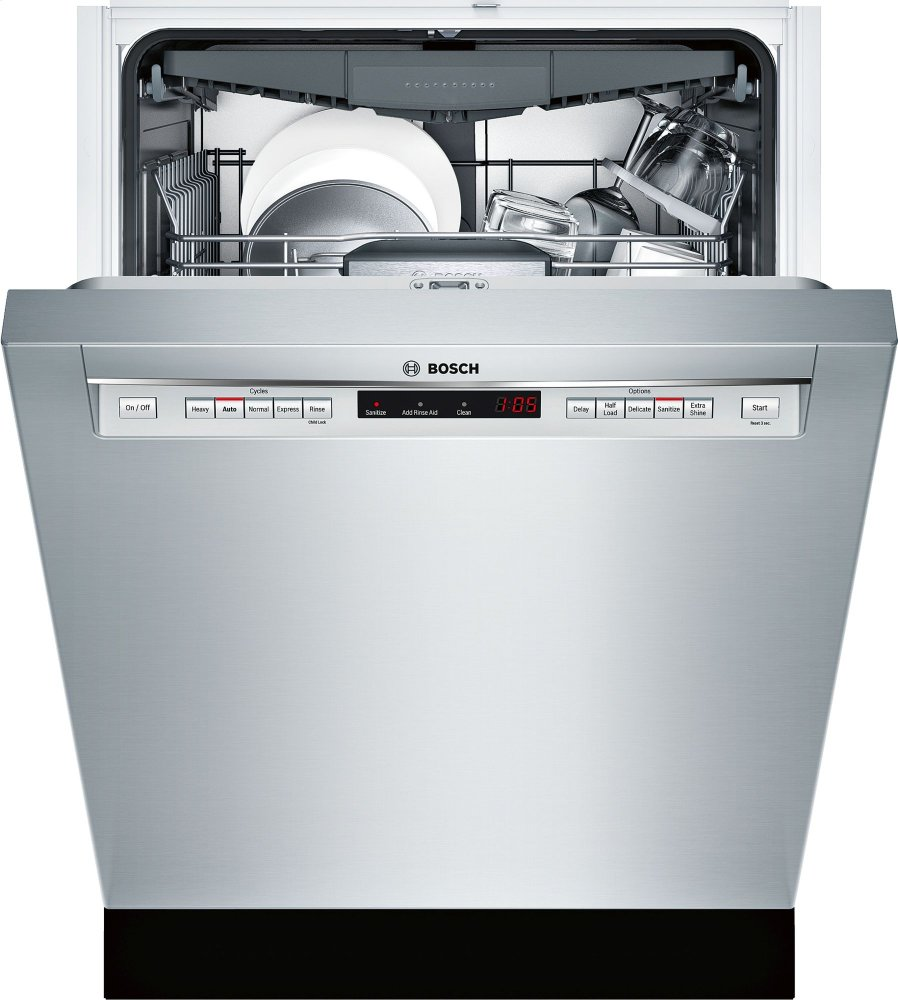 Hidden · Additional 500 Series  Stainless Steel SHE65T55UC
