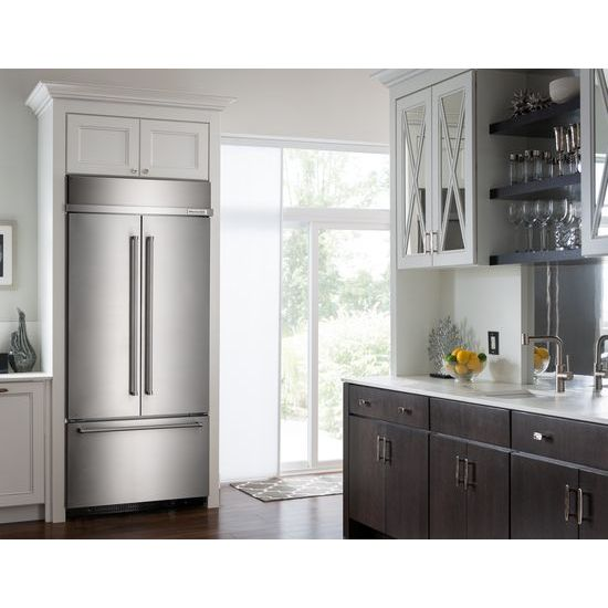 Kbfn502ess kitchenaid - Kitchenaid refrigerator platinum interior ...