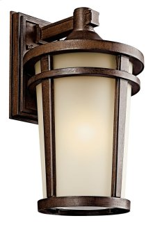 "Atwood 17.75"" 1 Light Wall Light Brownstone"