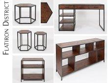 """Flatiron District 60"""" Bookcase"""