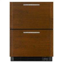 Panel Ready Jenn-Air® 24-inch Under Counter Refrigerator/Freezer Drawers