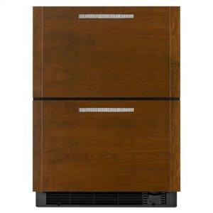 Jenn-AirPanel Ready Jenn-Air® 24-Inch Under Counter Refrigerator/freezer Drawers