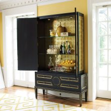 Collector's Cabinet-Top-Black
