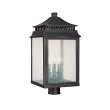 3 Light Post Lantern