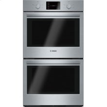 500 Series built-in double oven 30'' Stainless steel HBL5551UC
