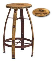 Reclaimed Brown Bar Stools