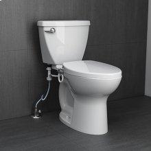 AquaWash Telescoping Bidet Seat - White