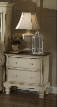 Wilshire Nightstand Antique White