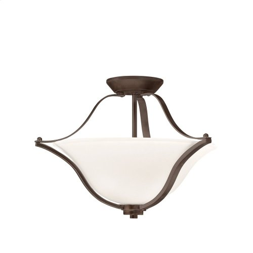 Langford 2 Light Convertible Pendant with LED Bulbs Olde Bronze®