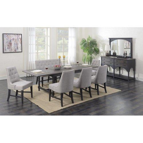 Emerald Home Wallingford Server Dark Pine D750-50