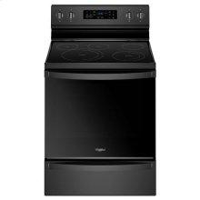 Whirlpool® 6.4 Cu. Ft. Freestanding Electric Range with Frozen Bake™ Technology - Black