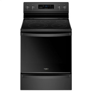 WHIRLPOOLWhirlpool(R) 6.4 Cu. Ft. Freestanding Electric Range with Frozen Bake(TM) Technology - Black