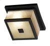 Plateau - 2 Light Flush Mount