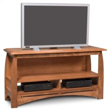 Aspen Open TV Stand with Inlay, Large