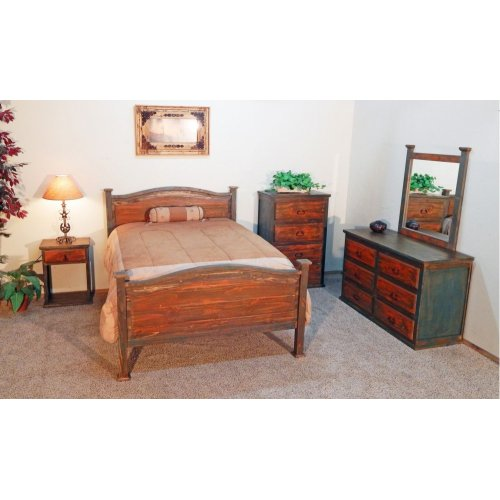 Million Dollar Rustic 02252907650set Bandera Bedroom Group