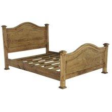 Twin Promo Bed Medio Finish