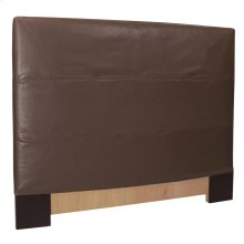 Twin Slipcovered Headboard Avanti Pecan