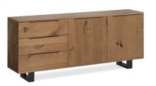 Tea Tree Large Sideboard Metal Base