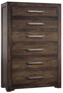 Roslyn County Six-Drawer Chest