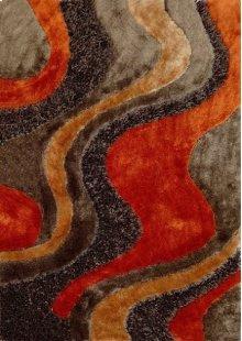 Design 29 Brown Orange Rug