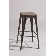 Morris Backless Non-swivel Bar Stool