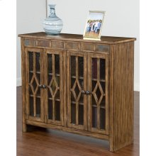 Coventry Bookcase W/4 Doors & Shelves