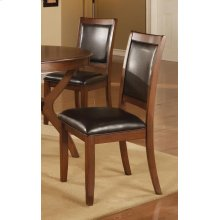 Nelms Casual Deep Brown Dining Chair