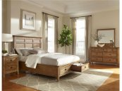 Alta Cal King Panel Bed