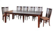 "42/60-2-20"", *5/4 Thick Top*, *5*Large Tapered Leg Table"