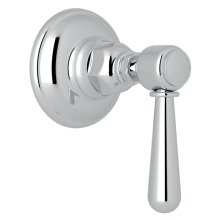 Polished Chrome Verona Trim For Volume Control And 4-Port Dedicated Diverter with Verona Series Only Metal Lever