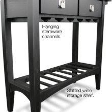 Mission Wine Stand #9061-SL