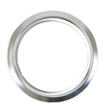 6 inch Chrome trim ring for Electric Range