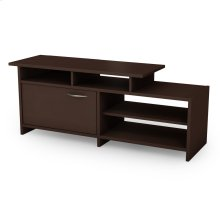 "TV Stand with Storage - Fits TVs Up To 42"" - Chocolate"