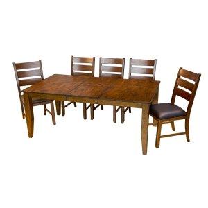 A AmericaRectangular Butterfly Table