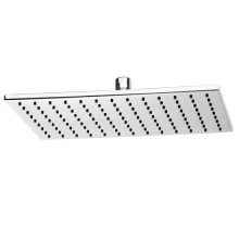 Slim Rectangle 12 Inch Showerhead - Polished Chrome